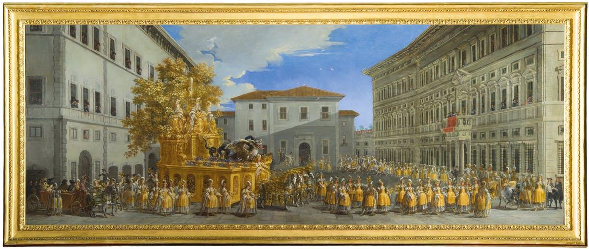 Sabato 6 aprile 2019 – Mostra Il Carro d'oro di Johann Paul Schor. L'effimero splendore dei carnevali barocchi
