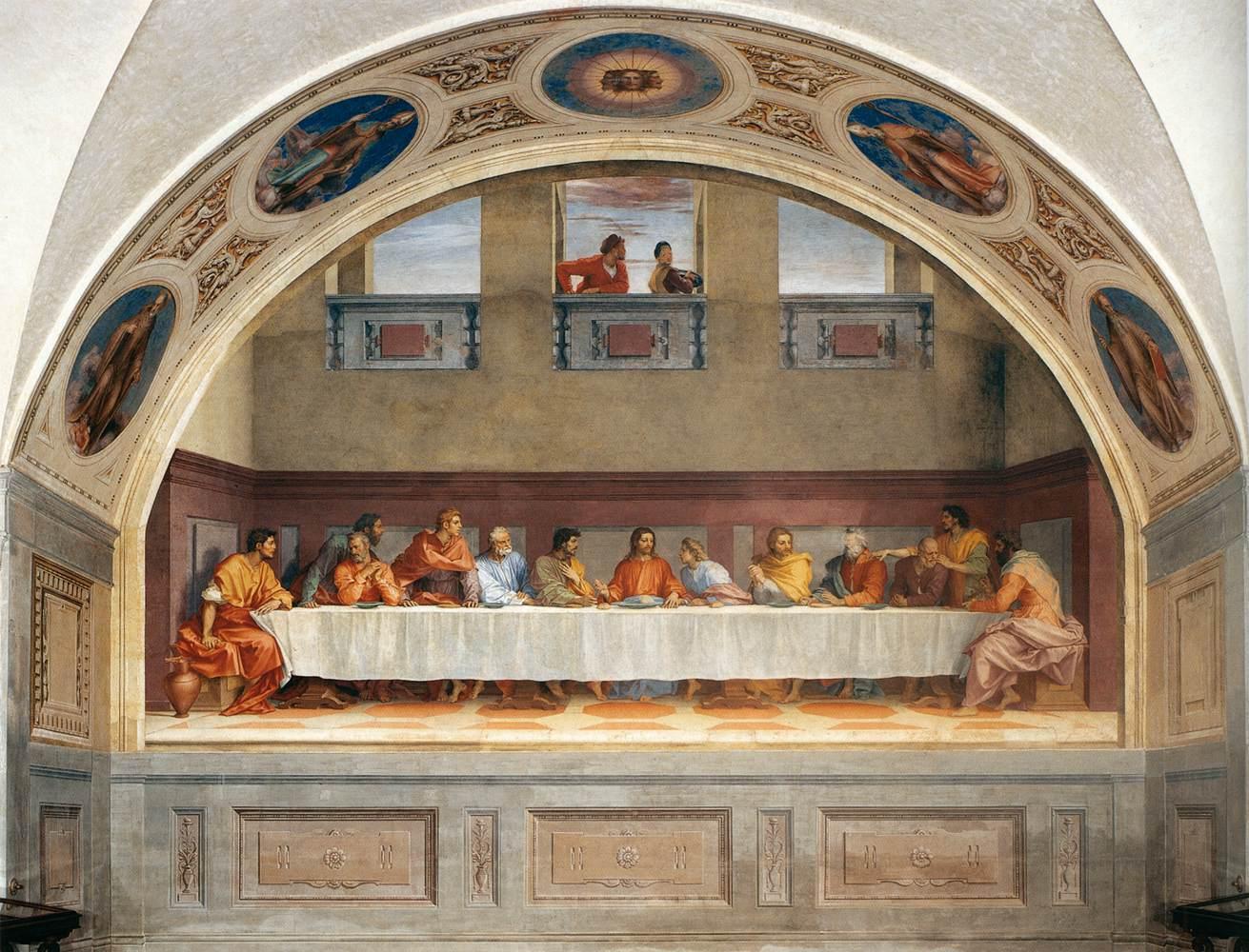 Giovedì 19 settembre – Cenacolo di Andrea del Sarto