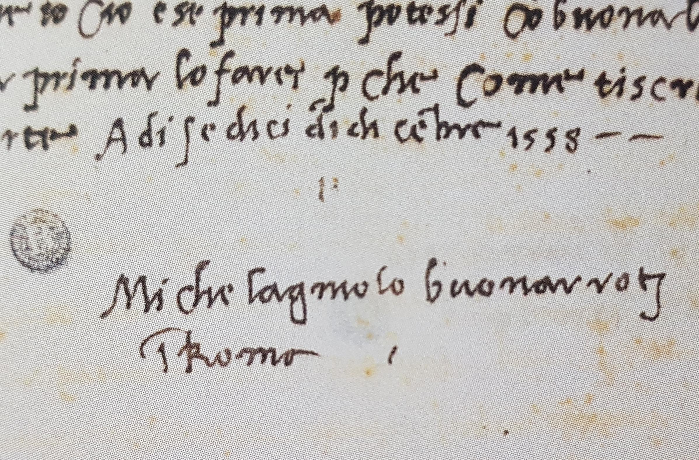 """Mercoledì 19 e venerdì 21 febbraio – """"Michelangelo e i Medici attraverso le carte dell'Archivio Buonarroti"""""""